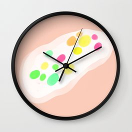 Prehistoric Jellybean  Wall Clock