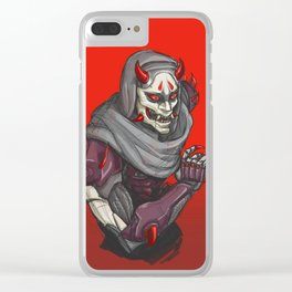 Oni Clear iPhone Case