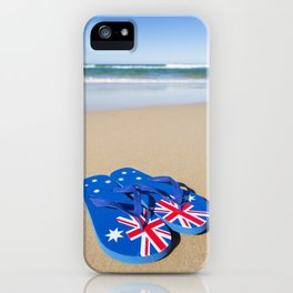 Australian Beach Thongs iPhone Case