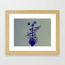 weather vane Framed Art Print