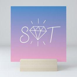 SVT - Carat Mini Art Print