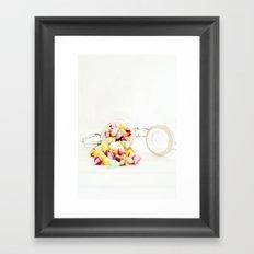 lollipop Framed Art Print