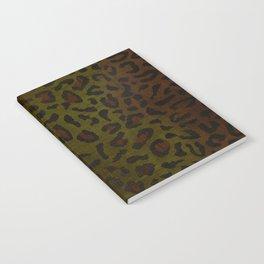 Modern Woodgrain Camouflage / Zaire KDP Print Notebook