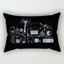Fisherwoman Rectangular Pillow