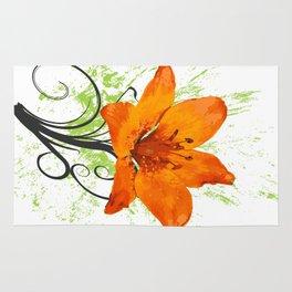 Wild flower Rug