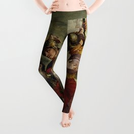 "Veronese (Paolo Caliari) ""Jesus and the Centurion"" Leggings"
