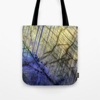 mineral Tote Bags featuring Mineral Stone by Santo Sagese