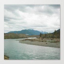 Hoh River Canvas Print
