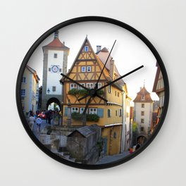 Rothenburg20150902 Wall Clock