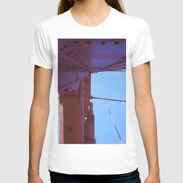 Looking Up, Walking the Golden Gate T-shirt