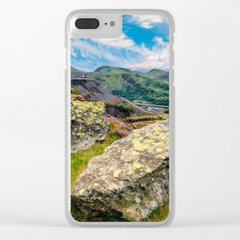 Quarry Steps Snowdonia Clear iPhone Case