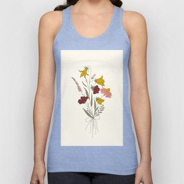 Wildflowers Bouquet Unisex Tank Top