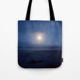 Westport by moonlight Tote Bag