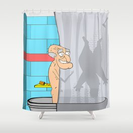 """It's Herbert's Fun Time!"" Shower Curtain Shower Curtain"