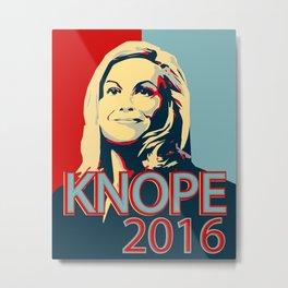 KNOPE 2016 Metal Print