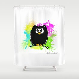 The owl without name Shower Curtain