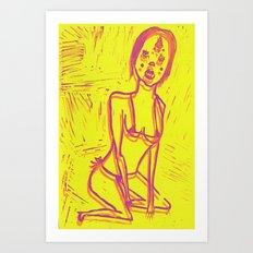 Manuela Art Print