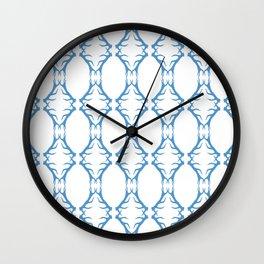 Modern Antler:  Turquoise Wall Clock