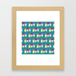 The BFF Gnomes II Framed Art Print