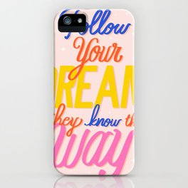 text iPhone Case