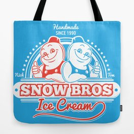 Snow Bros Ice Cream Tote Bag