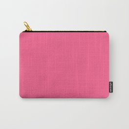 Strawberry - solid color Carry-All Pouch
