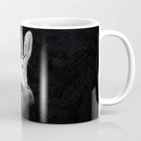 jackalope Mugs featuring Jackalope by Adam Dunt