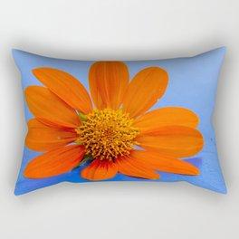 Vibrant Daisy Rectangular Pillow