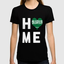 Saudi Arabia Is My Home T Shirt T-shirt