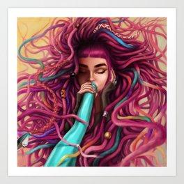 Didgeridoo Art Print