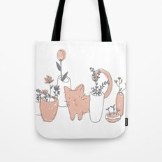 Fatty cat Tote Bag