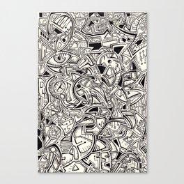 Shape? Canvas Print