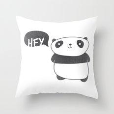 Panda Friend Throw Pillow