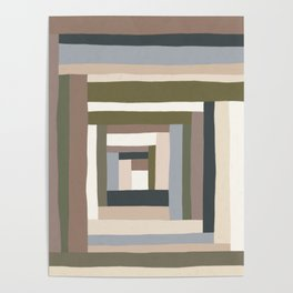 Abstract Neutrals II Poster