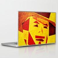 clint barton Laptop & iPad Skins featuring Clint by Triplea