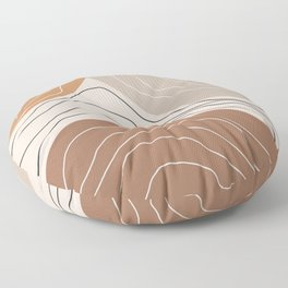 Abstract Shape IV Floor Pillow