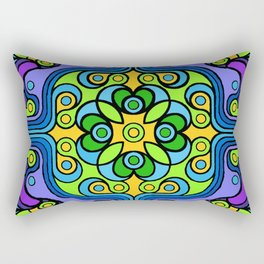 Rivets and Spinners Rectangular Pillow