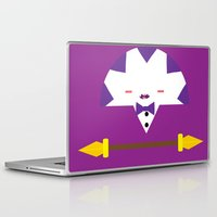 league Laptop & iPad Skins featuring Peppermint League (Grape Juice) by Carieo's Creation