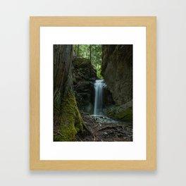 Mother Natures Beauty Framed Art Print