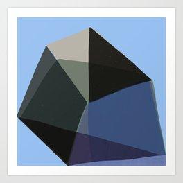 Classic Blue 1 Art Print