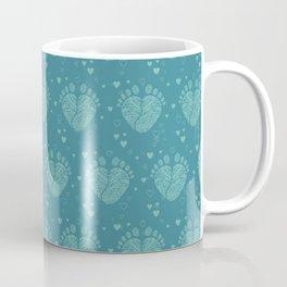 Baby feet background 6 Coffee Mug