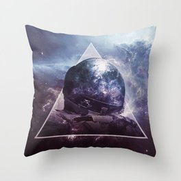 Non Plus Ultra Throw Pillow