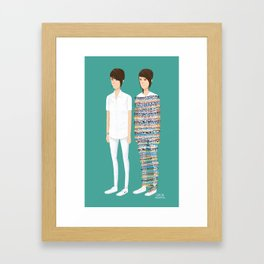 Tegan and Sara: Call It Off Framed Art Print