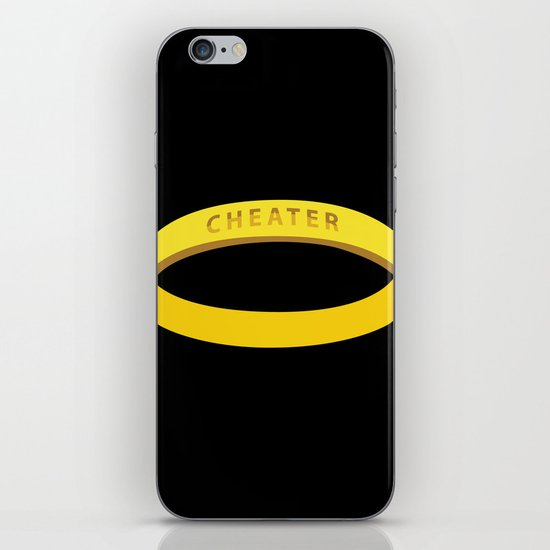 Cheater iPhone & iPod Skin
