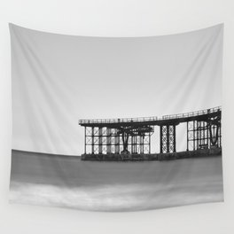 Hornillo Pier. 1903. Aguilas Wall Tapestry