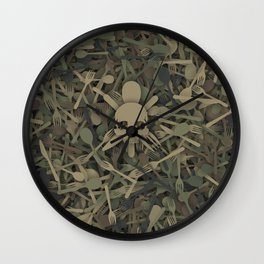 Special Eating Forces Wall Clock