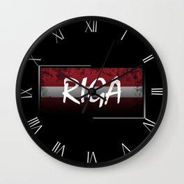 Riga Wall Clock