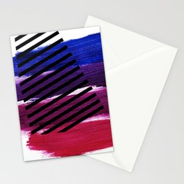 Magenta Broadcast Stationery Cards