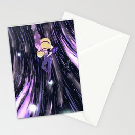 Earth in space Stationery Cards