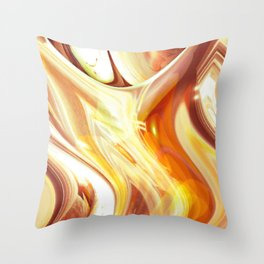 """""""Smooth Transitions"""" Throw Pillow"""